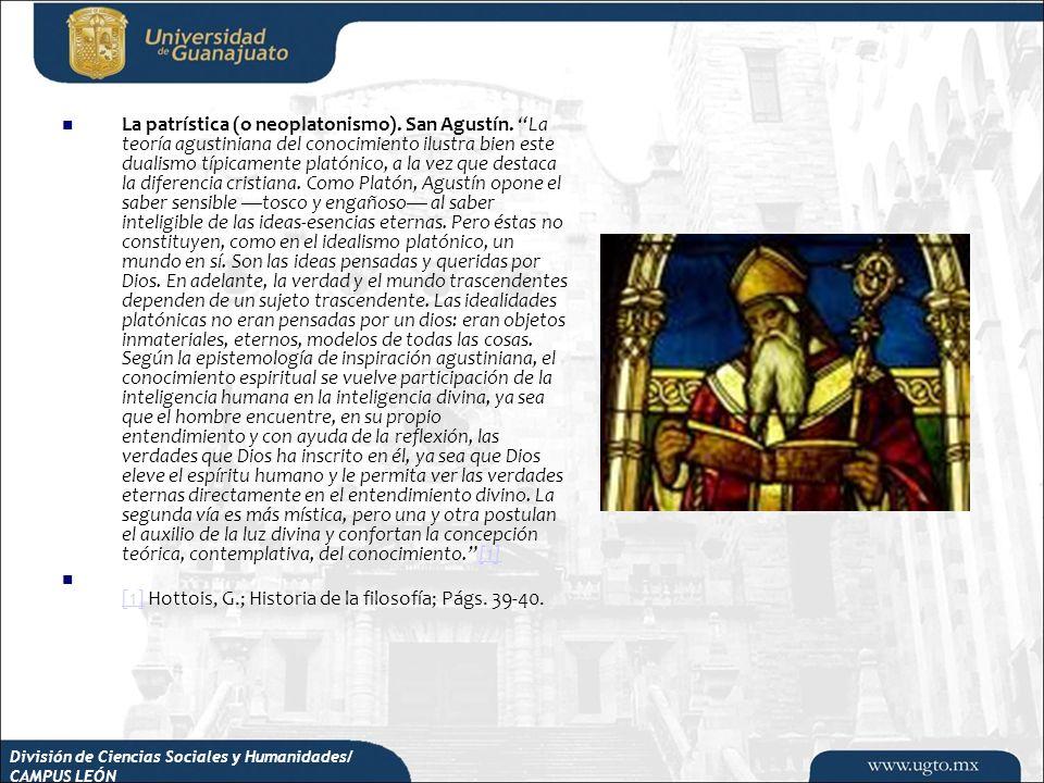 [1] Hottois, G.; Historia de la filosofía; Págs. 39-40.
